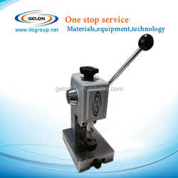 CR20xx serial coin cell punching machine, Coin cell making machine
