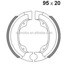 SCL-2012031025 Motorcycle wheel spare part brake shoe