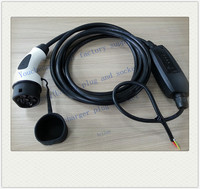 EV charging home type iec 62196-2 plug