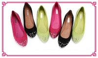 cheap shoes 2.99 china shoe supplier wholesale ballerina rhinestone for shoes