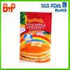 stand up customized printed food plastic bag