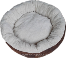 2015 style 100% polyester round dog bed