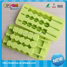 2015 custom hot summer cool frozen silicone ice cube tray lego ice cube tray