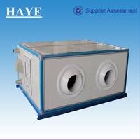 rated air flow volume:6000 cubic meter/h Remote Jet 6 pipes Air Handling Unit (AHU) for airport