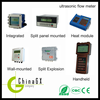 Low cost Intelligent handheld Ultrasonic Flow Meter china