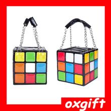 OXGIFT Can be folded Magic Cube Bag,Cube shoulder bag,Rubik cube bag