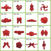 2015 direct factory custom rayon ribbon for red satin bow,packing bow