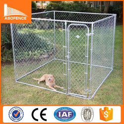 China manufacturer wholesale high quality cheap metal large dog kennels (promotion products)