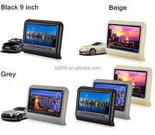"New model 9"" headrest car portable dvd with car mount"