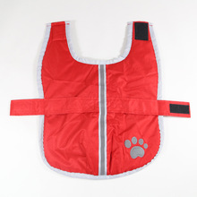Paw Pattern Double-Layer Fashion Reflective Dog Clothes