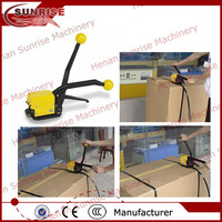 Handheld seallese manual steel band strapping tool