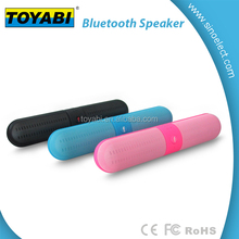 LED Lights Portable Bluetooth Speaker with Built in Microphone