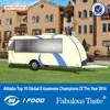 FV-78 New model insulated van china vans fiberglass trailer caravan