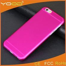 wholesale ultrathin clear matte transparent pc phone case for apple iphone 6 case