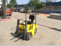 Toy forklift for Children, could do simple work as the real forklift, electric forklift good for garden work