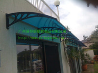 YP100360 Clear Window Awning,Outdoor Awning Canopy Glass Door Canopy Rain Patio Awning Cover