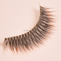 2015 popular japanese tip mellow and colored synthetic eyelash,custom order
