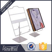 Good quality polish clothes display stand for shop