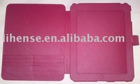 For apple ipad accessories leather case