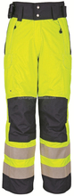 Railway Reflective Safety Trousers/Bottoms Hi Visibility Polyester Padding Pants Waterproof Adjustable Road Security Uniforms