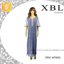 new style kuwaiti kaftan abaya islamic abaya clothing WF6002