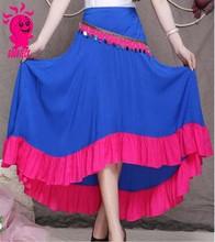 Caliente venta especial nacional playa de estilo chino mujeres falda larga con alta calidad