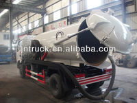 water pump sewer vacuum tanker truck