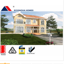 prefabricated home and container homes plans precast foam cement wall panel from alibaba china for Thailand