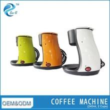 Fashion Design Cheap 2 Cup Coffee Machine For Home