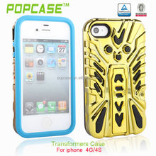 stand up plastic hard case for iphone 4s