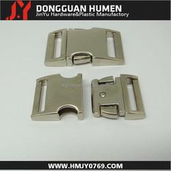"Dgjinyu Jinyu paracord bracelet buckle , 25mm side release buckle, 1"" metal buckle for belts"