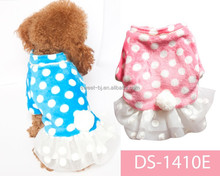 Sweet wholesale lovely new design pet clothes dog wedding dress