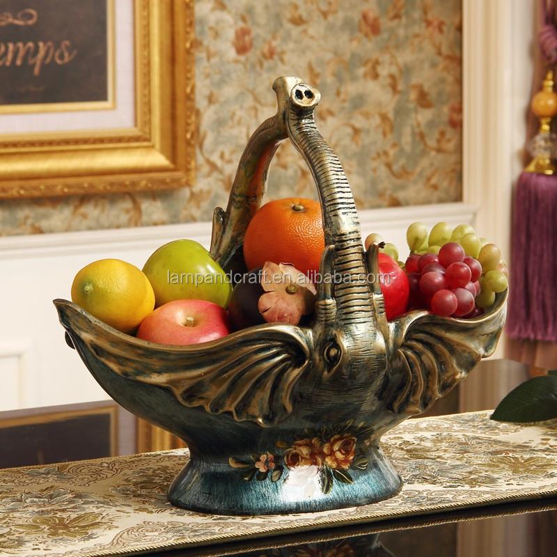 2016 luxus harz türkische vasen mit blau Öl malerei elefant große ... - Grose Vasen Fur Wohnzimmer