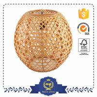 Nice Quality Classic Style Bamboo Paper Lampshade