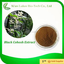 Black Cohosh P.E. Organic Black Cohosh Extract 1% -20% Triterpene Glycosides