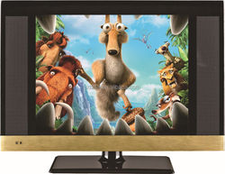 Factory 17'' lcd tv monitor with usb hd