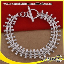how to advertise a product chunky cheap silver charm bracelet