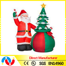 2015 Hot Wholesale Outdoor Christmas Decoration 60-150cm Various Size Inflatable Santa /Led Christmas tree