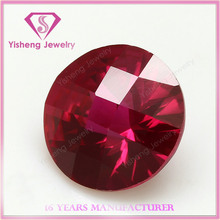 Facet Round Cut Pigeon Red Loose Color Love Ruby Factory Price Burma