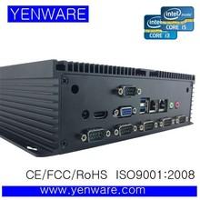 aluminium case mini pc i3 i5 i7 COM*6,USB*6,RJ45*2