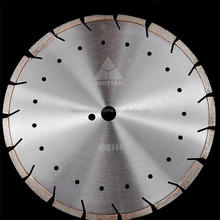 Hubei Yintian factory 350/400mm laser welding diamond road cutting blade for concrete and asphalt