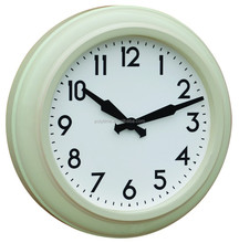 Retro home decorative metal wall clock