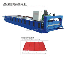 buy wholesale direct from china colorful glazed tile roll fomring machine