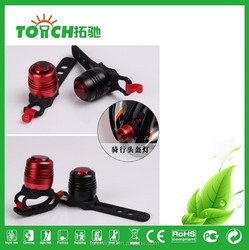 Top selling Bicycle Light with USB Rechargerable waterproof Lamp Aluminum alloy with plastic Rear Front and Tail Bike light