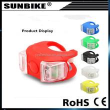 high quality reasonable price 2 led light silicone bike