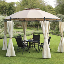 Promotional Prices Round Metal Strong Winds Gazebo