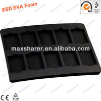 Black Conductive PU Foam for storage electronic component