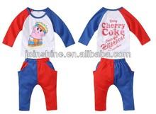 funny baby set de ropa al por mayor precio barato