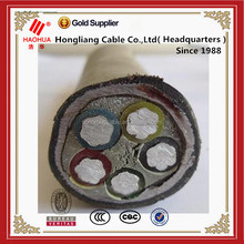 0.6/1kv lv copper conductor PVC Insulated screened control cable