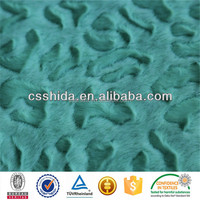 100poly printed coral fleece